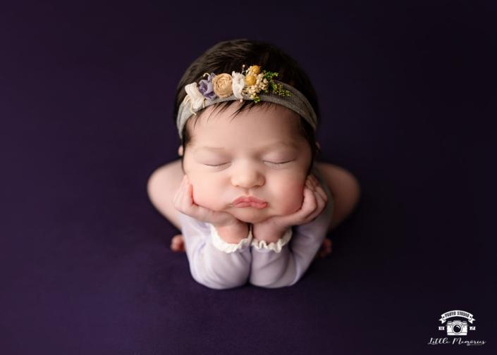 bebé dormido en manta norada
