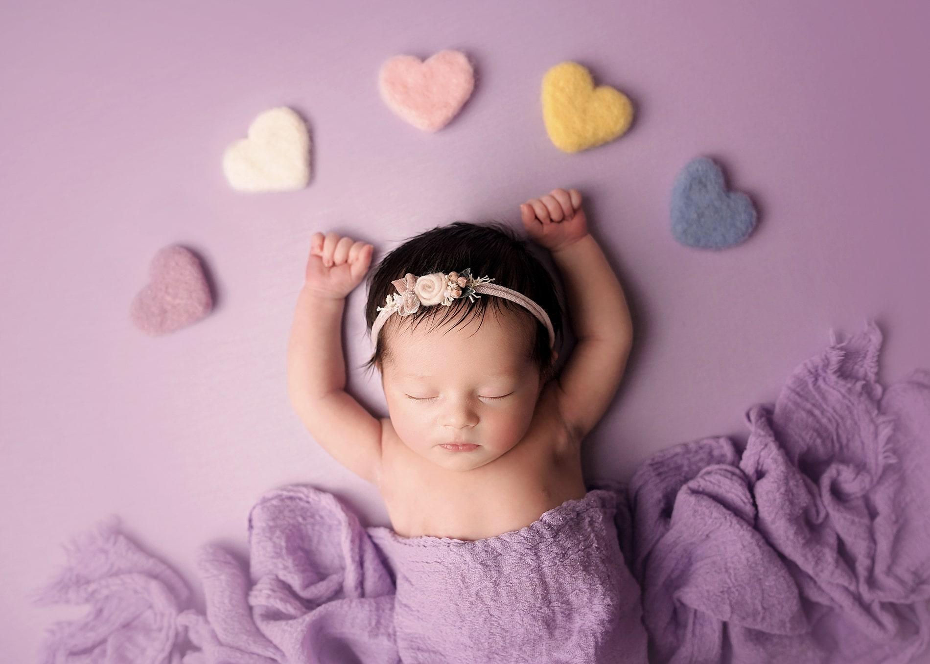Fotografía de estudio para bebes y newborn en Toledo